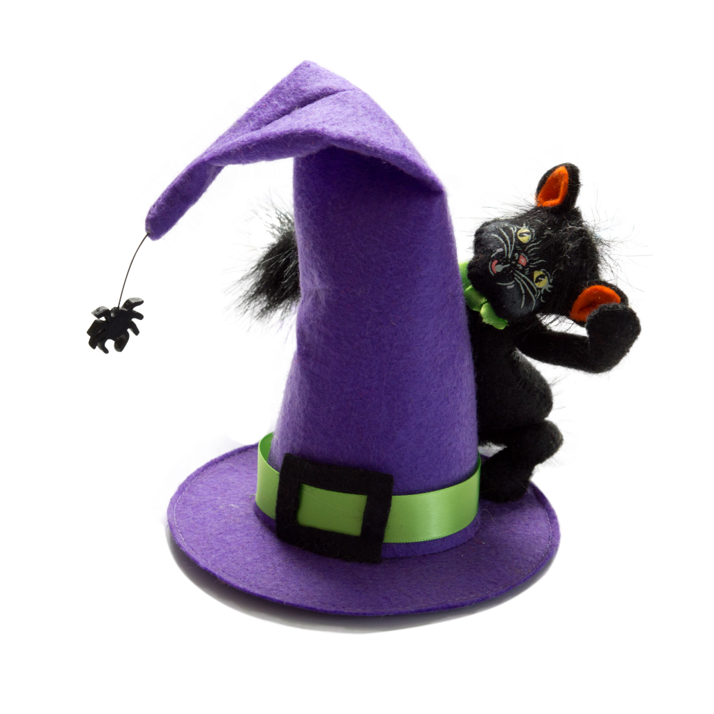 """4"""" Witch Hat Kitty"""