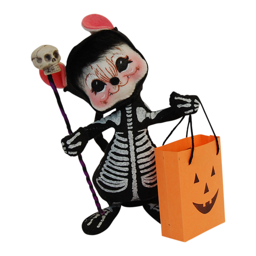6in Skeleton Mouse
