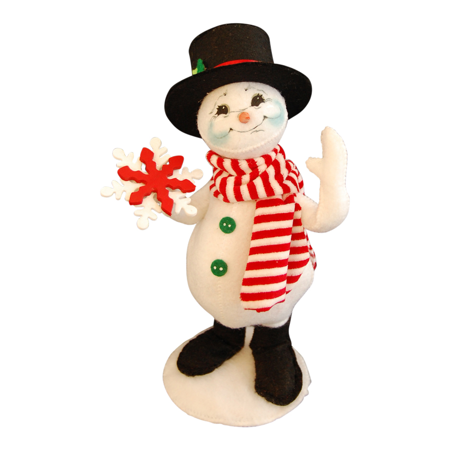 9in MerryMint Snowman