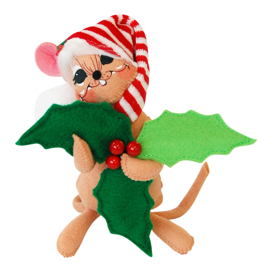 6in Holly Mouse
