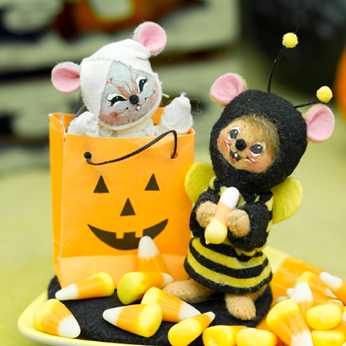 3″ Trick or Treat Mice