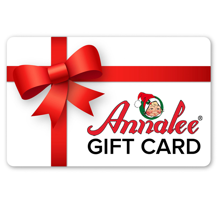 annalee gift card - gift certificate