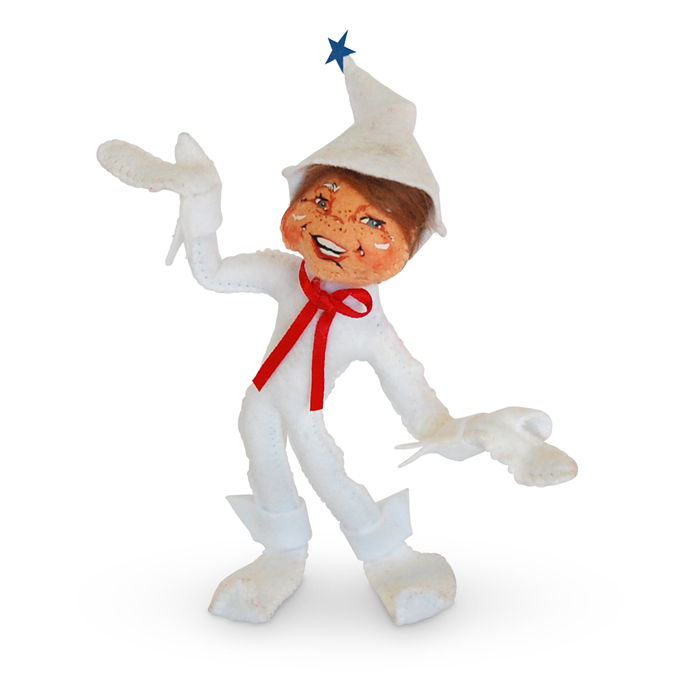 5-inch Patriotic Elf- White