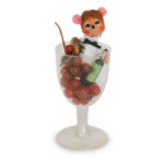 3-inch Merlot Mouse