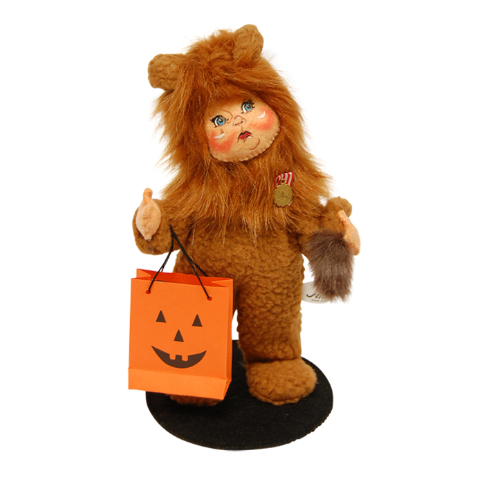 6 inch trick or treat lion