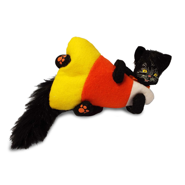 6 inch candycorn kitty