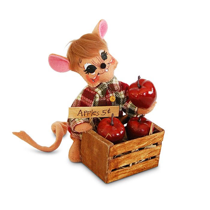 6 inch apple picking mouse