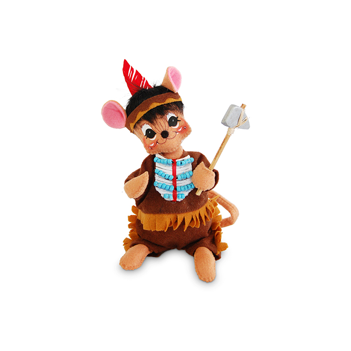 6 inch indian boy mouse