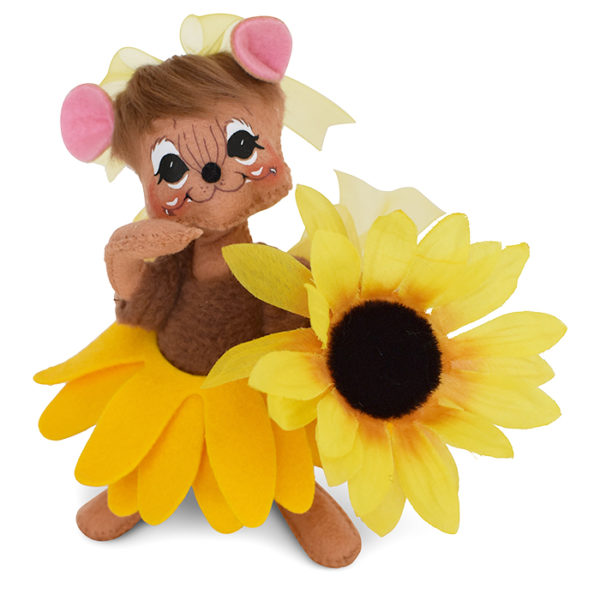 sunny sunflower mouse
