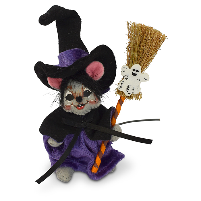 4 inch witch mouse