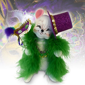 6 inch mardi gras mouse