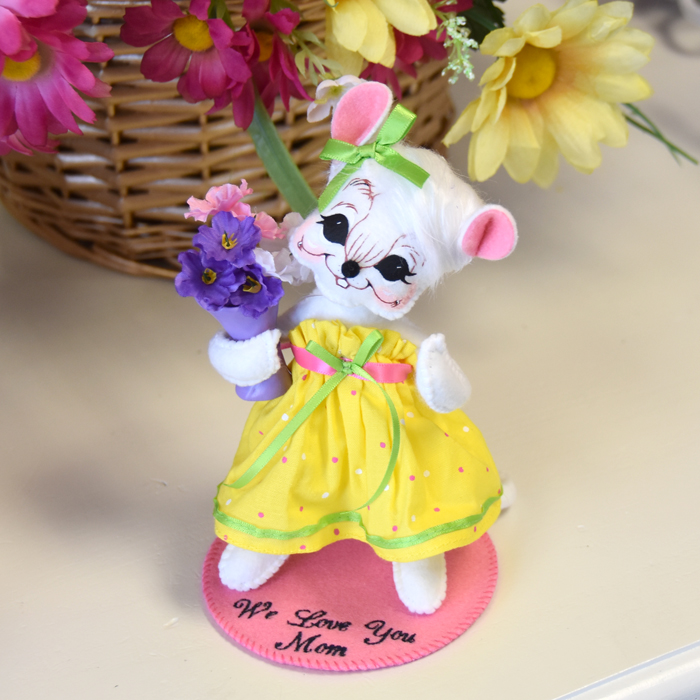 bright bouquet mouse set with base