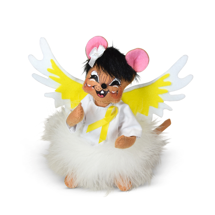 6 inch yellow angel mouse