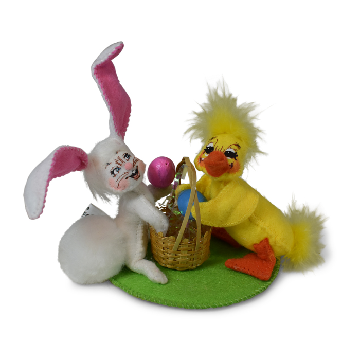 210019 3in Bunny and Duck Couple