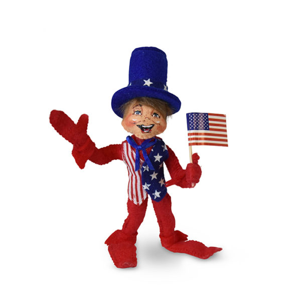 260019 5in Stars and Stripes Elf