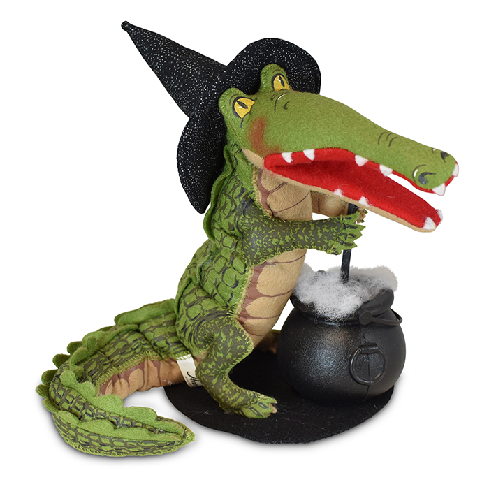 8 inch alligator witch