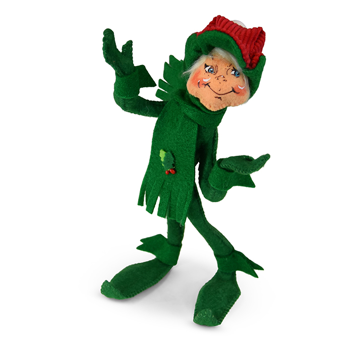 9 inch traditional green elf