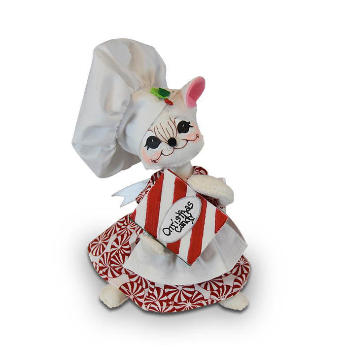 6 inch christmas candy chef