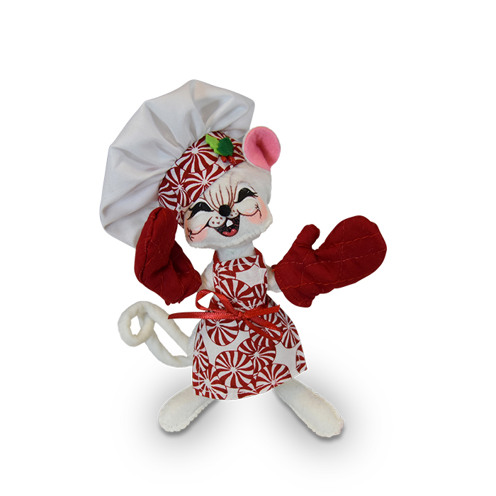 6 inch peppermint chef mouse