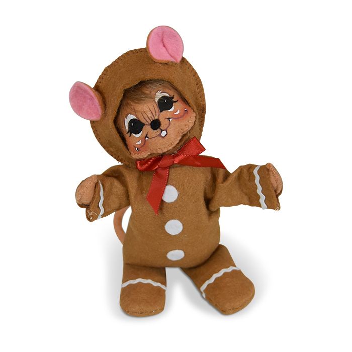 6 inch wannabe a gingerbread man mouse