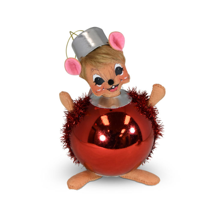 6 inch Wannabe an Ornament Mouse