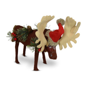 760819 8in Rustic Pine Moose1