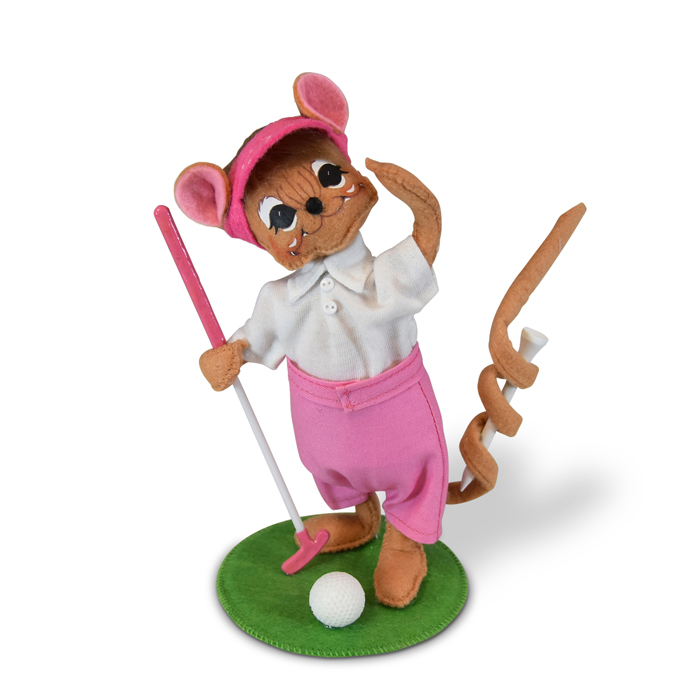 850819 6in Tee Time Mouse