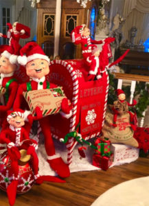 Elf Holiday Decor Display Runner-Up