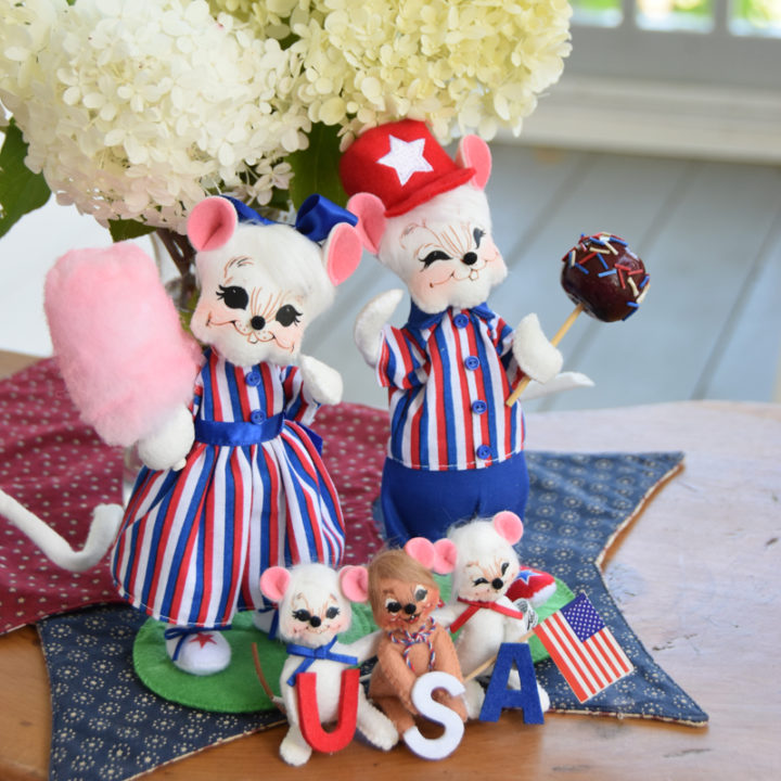2020 Patriotic Mouse Family bundle