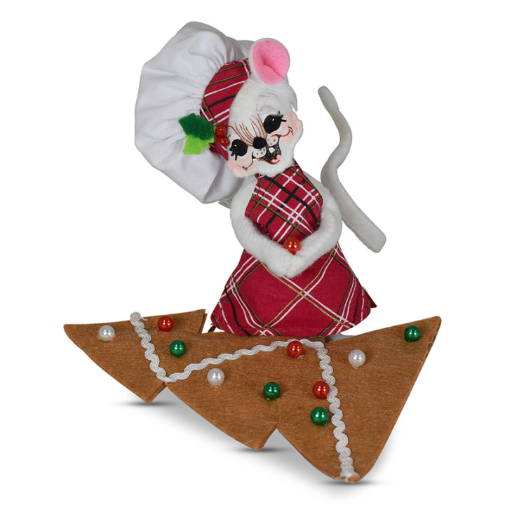 5in Gingerbread Tree Mouse