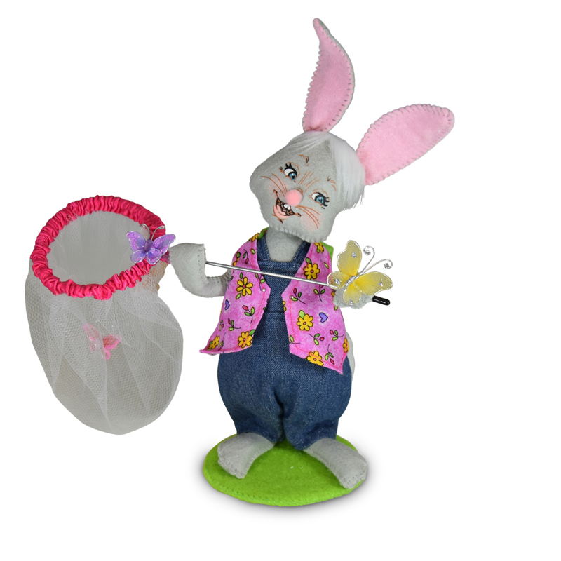 7 inch Chasing Butterflies Bunny - Exclusive Design