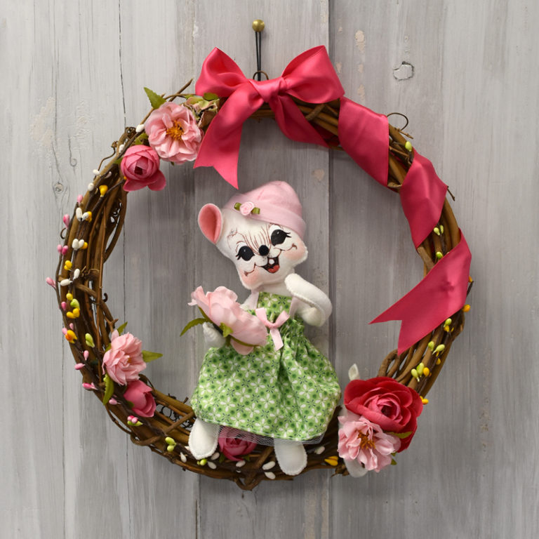 NEW EXCLUSIVE – Spring Welcome Wreath!