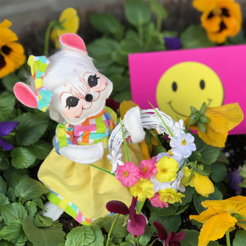 2020 Spring Wreath Mouse-Smile