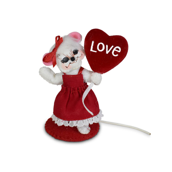110121 3in Love Balloon Mouse
