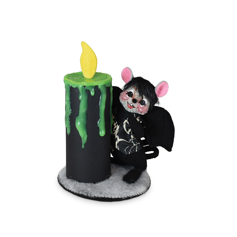 310321 5in Bat Mouse with Candle