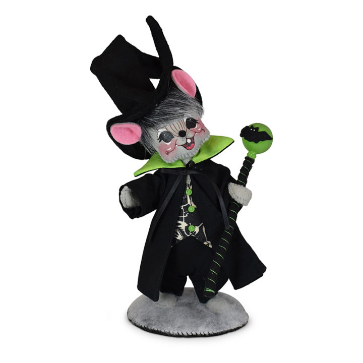 310821 6in Ghostly Warlock Mouse