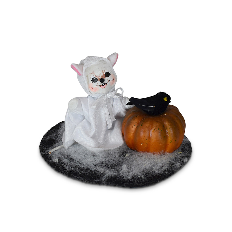 311721 3in Ghost with Pumpkin