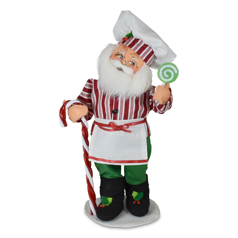 411221 9in Christmas Candy Santa