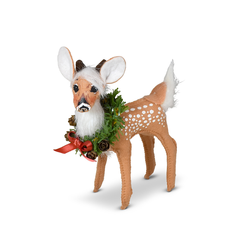 460021 5in Holiday Cheer Fawn