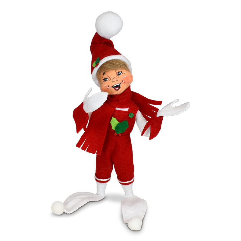 510721 12in Holiday Cheer Elf