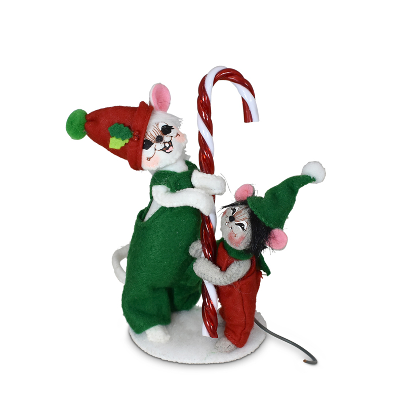 610121 5in Candy Cane Mice-WEB