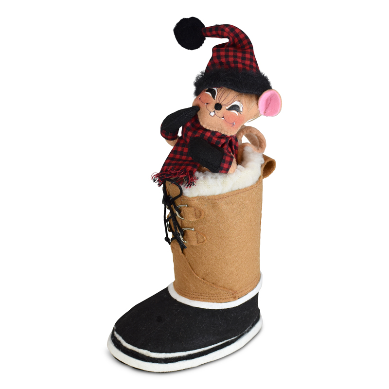 611021 6in Winter Woods Boot Mouse