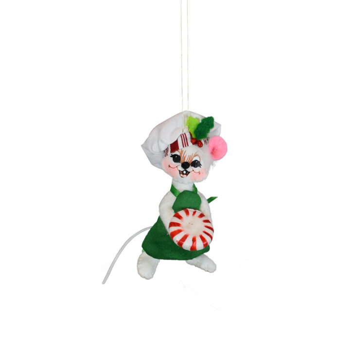 710821 3in Peppermint Chef Mouse