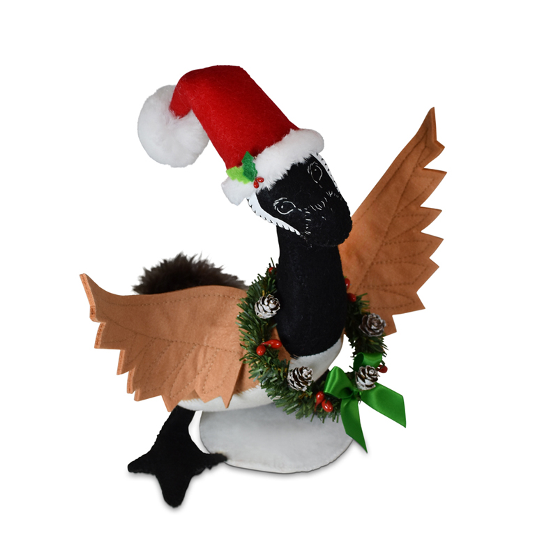 760821 11in Christmas Goose