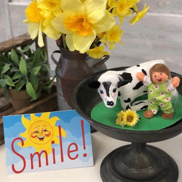 2021 Send a Smile - 4in Spring Calf with Kid