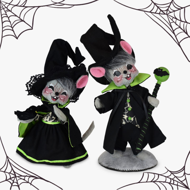 2021Ghostly Mouse Couple